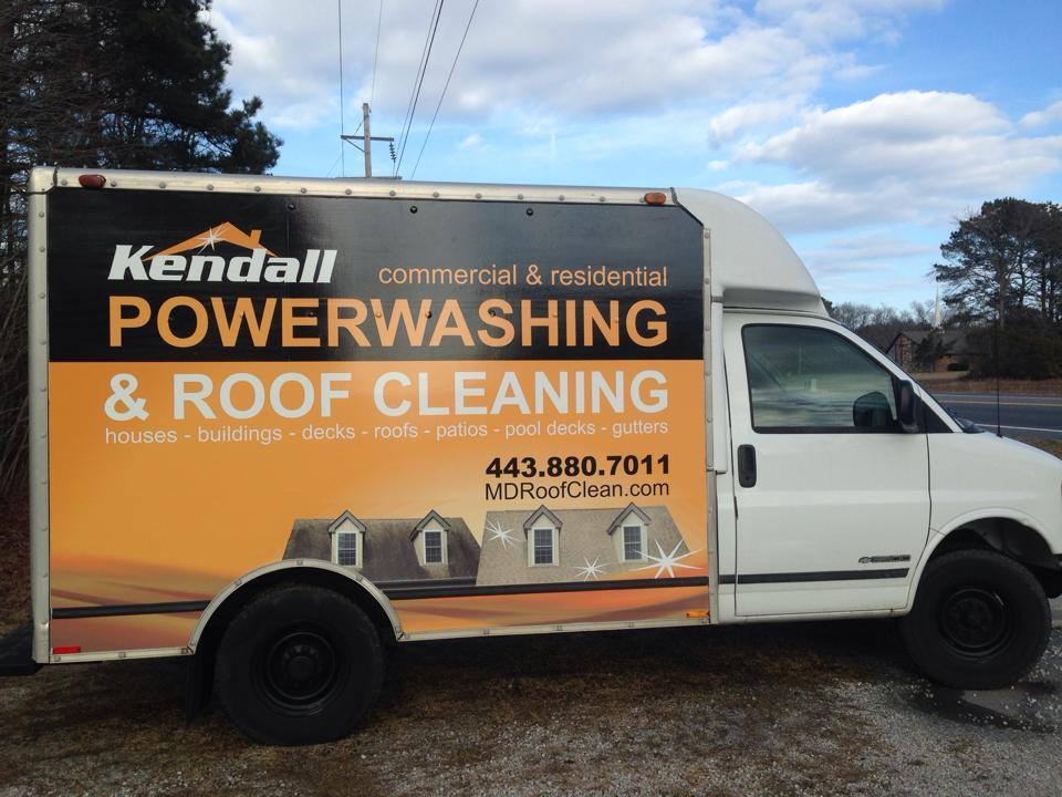 Professional Powerwashing and Roof Cleaning Trucks- Maryland and Delaware