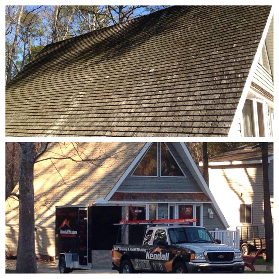 North Potomac Cedar Roof Cleaning